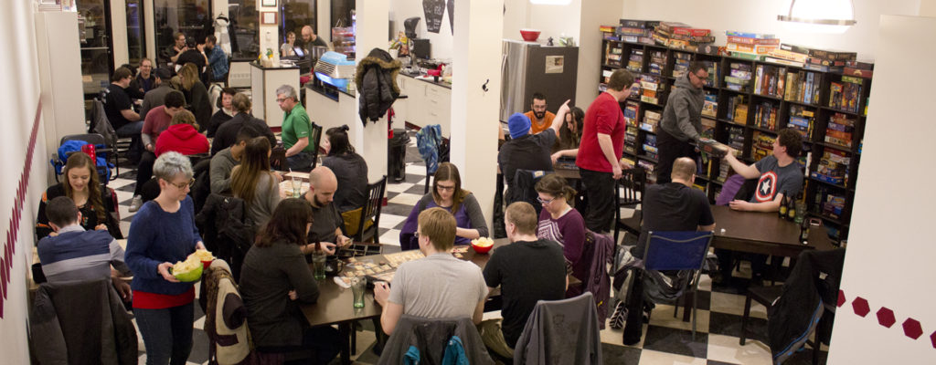 Best Geeky Things to Do in Saskatoon King Me Boardgamery and Cafe interior